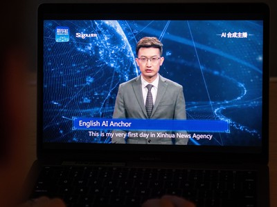 AI News Anchor Makes Debut In China