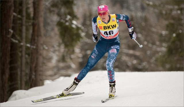 Sadie Bjornsen expects to compete n the classic sprint and the 10K freestyle at the 2018 Winter Games in PyeongChang, South Korea.