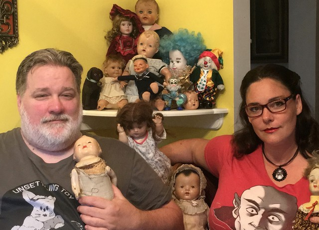 Brian Jillson and Sara Derrickson co-founded Unsettling Toy Removal and Rehoming in Portland.