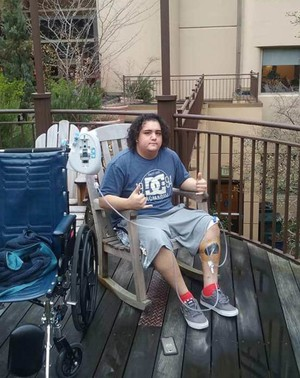 Emmanuel Ayala Frutos was hit by a car in Portland on Jan. 6 while riding his skateboard and spent six weeks at Legacy EmanuelMedical Center undergoing surgery for his broken bones and recovering from his injuries
