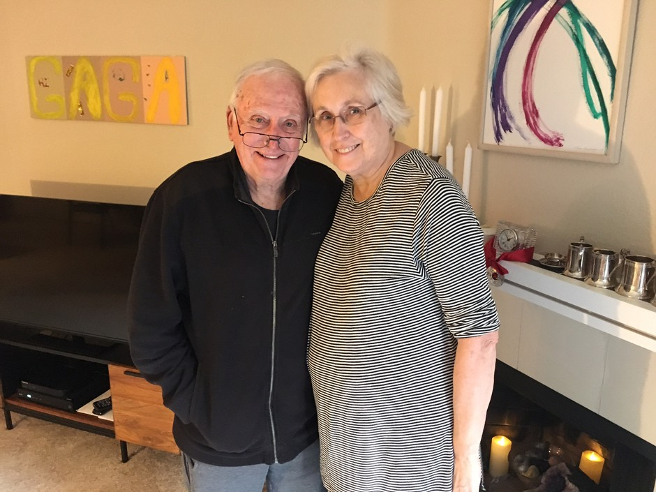 Amtrak crash survivor Rudy Wetzel said he was lucky to have the support of his partner Lee Dorigan and both of their families to help him through an arduous recovery.