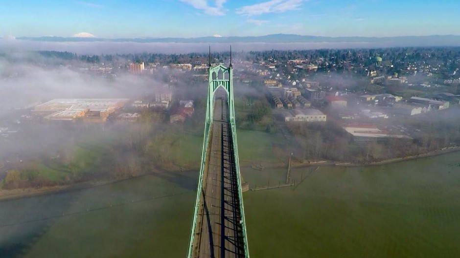 Why Are Bridges Green The Story Starts In Oregon News Opb