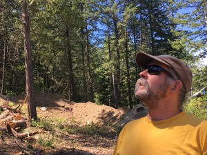 Chris Hopkins built a home in Pine Forest in the 1990s and lived there for more than a decade. He says it's the responsibility of individual property owners to protect their homes from wildfire.