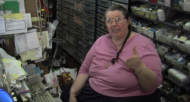 "Kay ""The Lightbulb Lady"" Newell has owned and operated the iconic Sunlan Lighting store on N. Mississippi for decades."