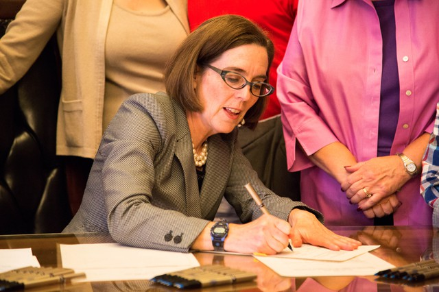 Today Gov. Kate Brown signed End Profiling Bill (House Bill 2002)