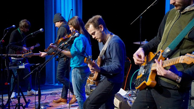 """Typhoon performs from its new album, """"Offerings,"""" at the OPB studio."""