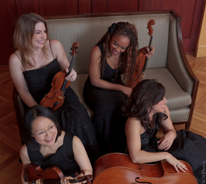 The all-female string quartet Mousai Remix is dedicated to bringing classical music to the people. Proceeds from their concerts often go towards musical education nonprofits around Portland.