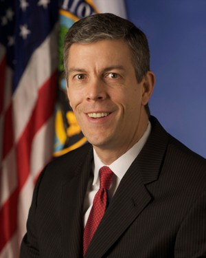 U.S. Education Secretary Arne Duncan.