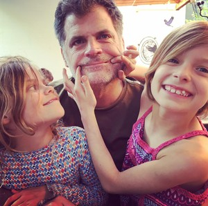 """Jim Brunberg hosts """"Roam Schooled"""" with his twins, Dana and Veronica (or Vern for short)."""