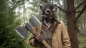 """This Thursday, """"Oregon Art Beat"""" profiles the local artists behind the monster magic of """"Grimm,"""" like this fox creature who likes to hunt rabbit creatures for their lucky feet..."""