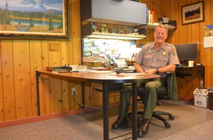 Randy King is the superintendent of Mt. Rainier National Park.
