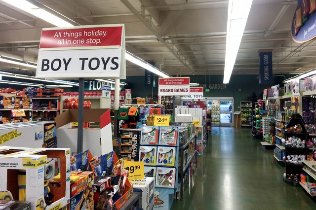 last month the raleigh hills fred meyer segregated toy sections by gender - Fred Meyer Christmas Hours