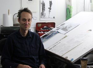 """Anders Nilsen is the artist and author behind the graphic novels """"Big Questions"""" and """"Tongues,"""" which pose philosophical questions about connectedness and isolation."""