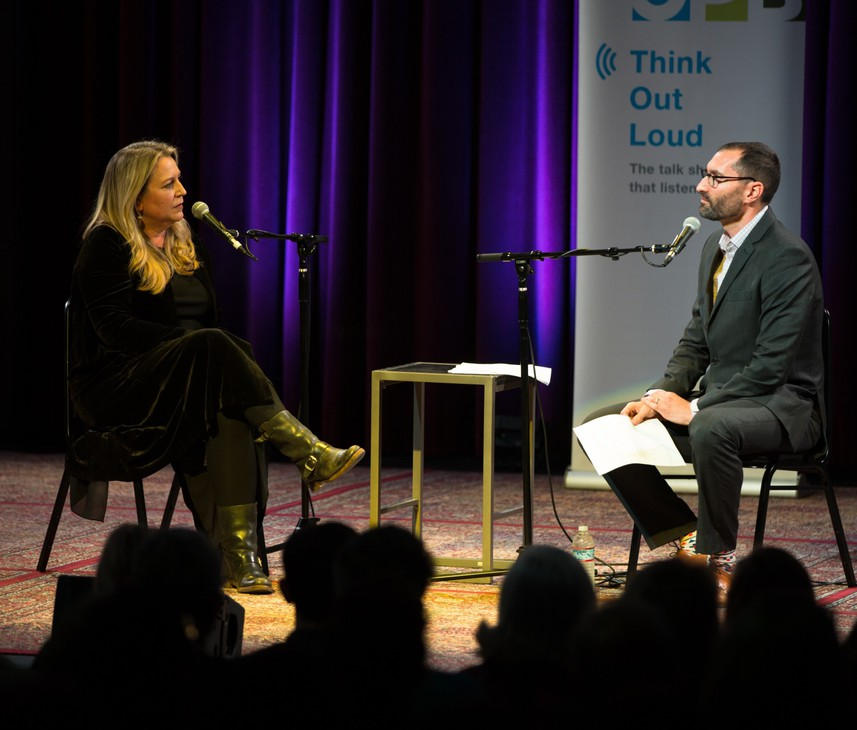 "Portland-based author, columnist and podcast host Cheryl Strayed speaks with ""Think Out Loud"" host David Miller."