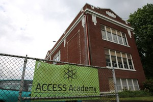 Access Academy, Portland's alternative program for Talented And Gifted students, spent the last few school years at the Rose City Park school building.