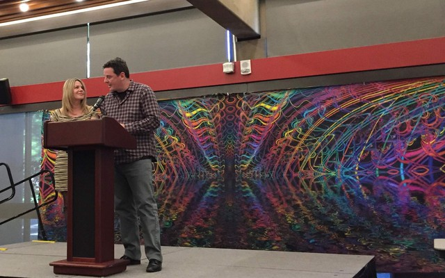 Sheri and Tom Eckert spoke to the Exploring Psychedelics conference in Ashland, Oregon, about partially legalizing the mind-altering, non-addictive psilocybin.