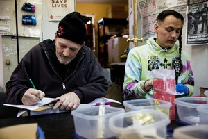 Health experts say needle exchange programs can help stop the spread of hepatitis C, a viral infection that's common among injection drug users. New drugs can also cure the virus, but many Oregonians have struggled to get access to them.