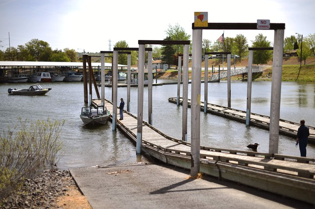 The U.S. Army Corps of Engineers owns most of the Columbia riverfront property in Umatilla, Oregon.