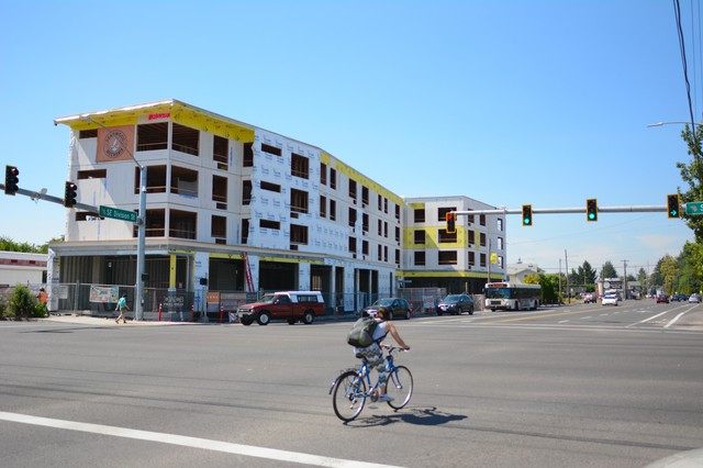 The Jade/APANO Multicultural Space on SE 81stAvenue is a5,000-square-foot community center withsolar panels, the kind of project proponents say will be supported by the Portland Clean Energy Fund.