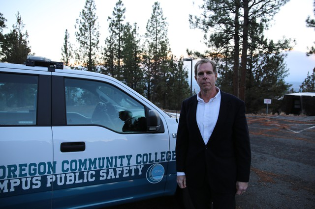 COCC Director of Public Safety Peter Ostrovsky.
