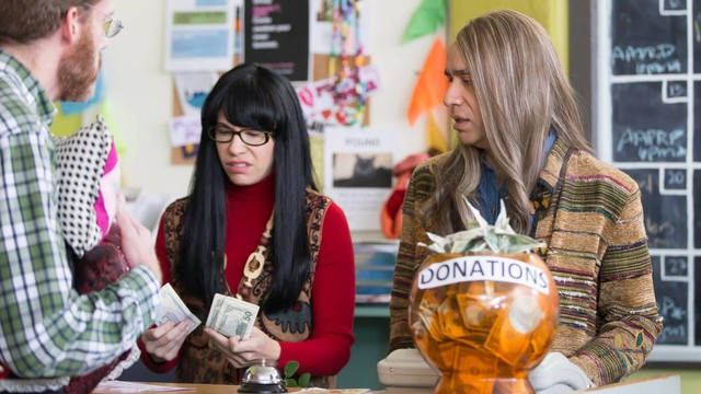 Brownstein and Armisen's feminist bookstore sketches have drawn criticism from the bookstore they were originally based on.