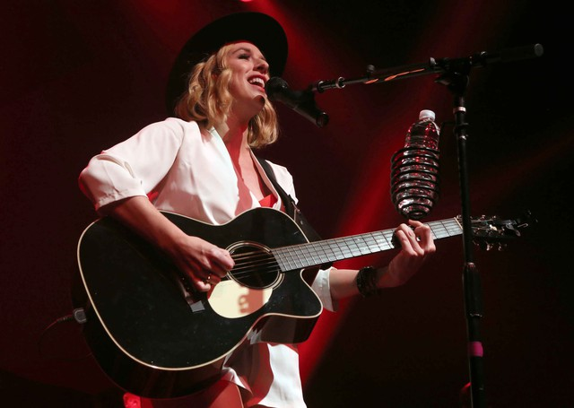 ZZ Ward is billed as a mixture of Etta James, Aretha Franklin and Tina Turner. She plays the Waterfront Blues Festival Sunday evening.