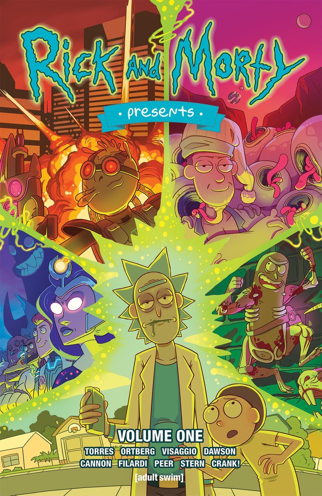 """""""Rick and Morty,"""" based on the popular Cartoon Network Adult Swim series, is one of Oni Press' marquee titles."""