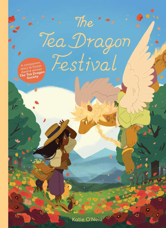 "Katie O'Neill's ""Tea Dragon Society"" books have proved a solid hit for Oni's porfolio of titles for middle grade readers."