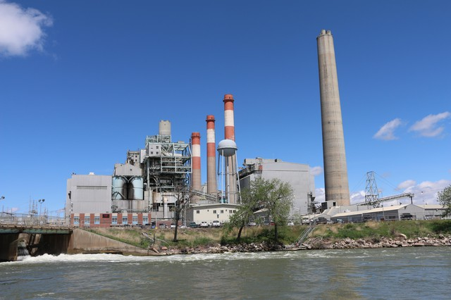 PacifiCorp's Dave Johnson coal-fired power plant in Glenrock, Wyoming, is scheduled for retirement in 2027.