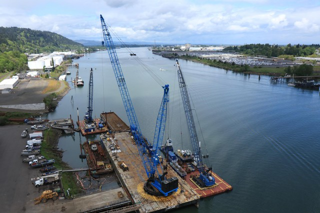 Companies with property in the Portland Harbor Superfund Site downstream from NW Natural include ExxonMobil, BP and Toyota.