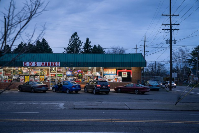In 2002, Jeremy Christian stunned his friends and family when he robbed Ed's Market in North Portland. It was his first run in with the law but friends said the incident marked a key point in his long slide toward increasingly erratic and violent actions.