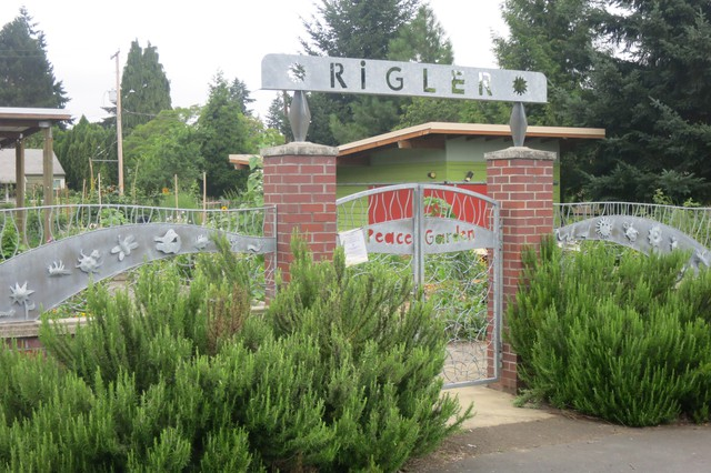 Rigler Elementary School in Northeast Portland is one of more than 70 schools in Oregon's largest district with a community garden.