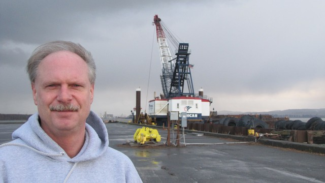 Aberdeen, Wash. Longshoreman Tom O'Connor was a supporter of RailAmerica's proposed coal export terminal in neighboring Hoquiam. The company this week abandoned plans for the project.