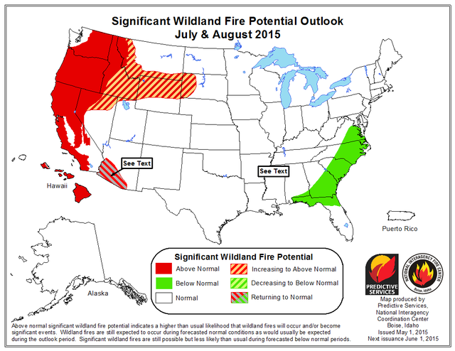 Dry, Dead Wood Could Help Ignite Wildfires In Oregon And Washington ...