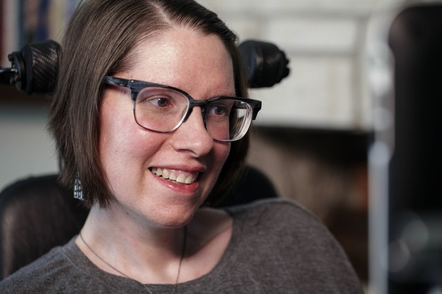 Summer Whisman was diagnosed with ALS three years ago at the age of 32.