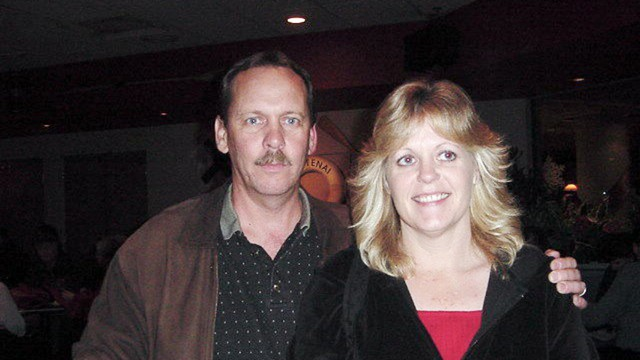 Gary and Barbara Sall, pictured above in 2002, started dating in high school and worked at the Hanford Nuclear Site together.