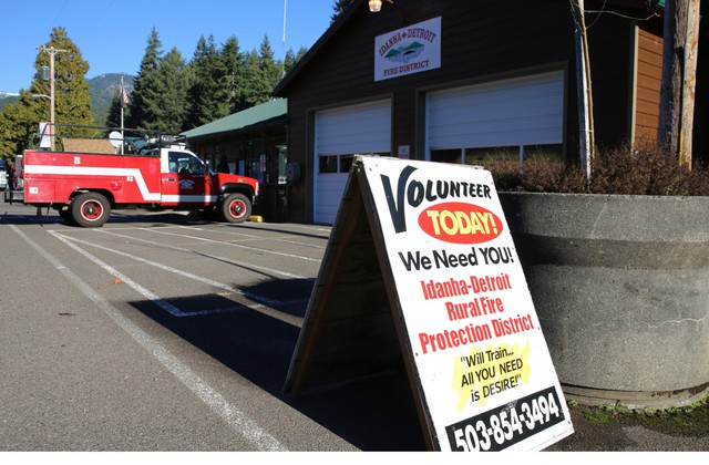 Many rural fire departments are in need of more volunteers.