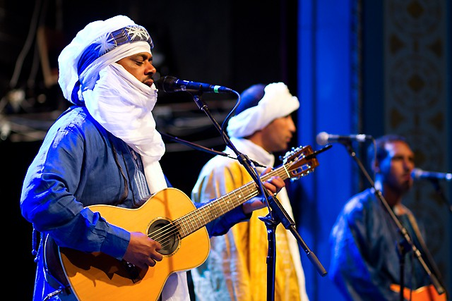 Tinariwen at the Aladdin Theater