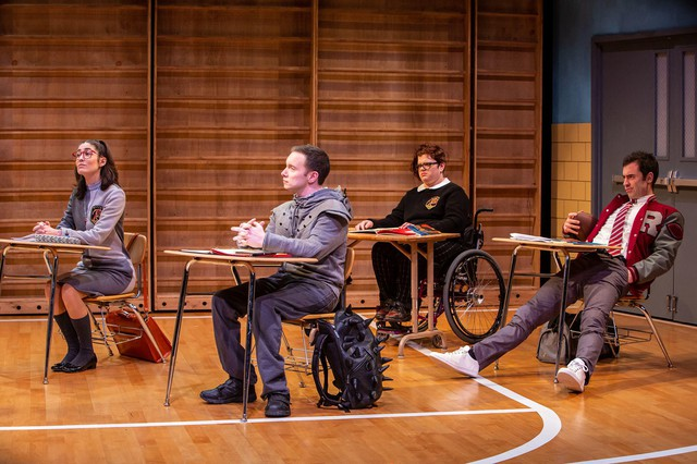 """Christopher Imbrosciano portraysthe title character in """"Teenage Dick,"""" a play based on """"Richard III,"""" set in high school. The show runs through Feb. 3, 2019, at Artists Repertory Theatre in Portland."""