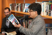 """Sherman Alexie reading from his new collection """"Blasphemy"""" during Think Out Loud"""