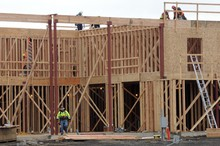 New building construction.