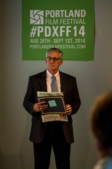 "Portland Mayor Charlie Hales was on hand at the Portland Film Festival's event announcing the 2014 festival schedule. Last year, Mayor Hales proclaimed Portland the ""City of Film."""
