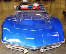 A stolen 1969 Corvette was discovered during a routine customs check at the Port of Los Angeles. The car was stolen from Portland 26 years ago.