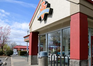 The Vancouver-based chain Burgerville has 47 restaurants in Oregon and southwest Washington.
