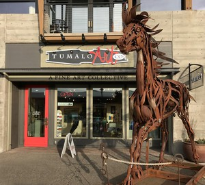 The Tumalo Art Co. in Bend, Oregon, reopened whenthe community entered Phase 1 of relaxedCOVID-19 restrictions.