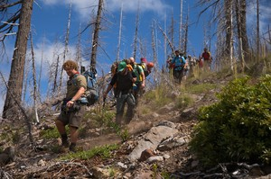 OPB videographerMichael Bendixen leads the expedition group of 11 volunteers, 11 crew and two subjects working in three basic teams: Canyon, Top-Side and Story. The Valhalla expedition began on July 27, 2015.