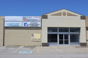 The entrance to Horizon Publication's offices in a Marion, Illinois strip mall on July 15, 2019.Rhode Island Suburban Newspapers and its affiliates list this address on variousstate corporation filings.