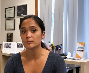 Andrea Williams is executive director of Causa, an immigrants' rights group based inSalem, Oregon. She says that her group is working to assemble a broad coalition in opposition to the proposed ballot measure to repeal the state's so-called sanctuary law.