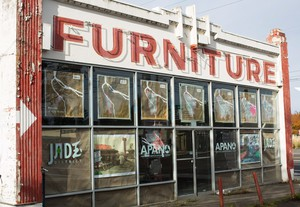 As part of the effort to remake the neighborhoods along 82nd Avenue, community groupsplan to turn this old furniture store into a community center and affordablehousing.