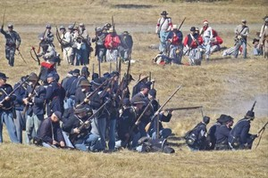 A Civil War re-enactment held at Fort Stevens State Park for the past 27 years plans to relocate.